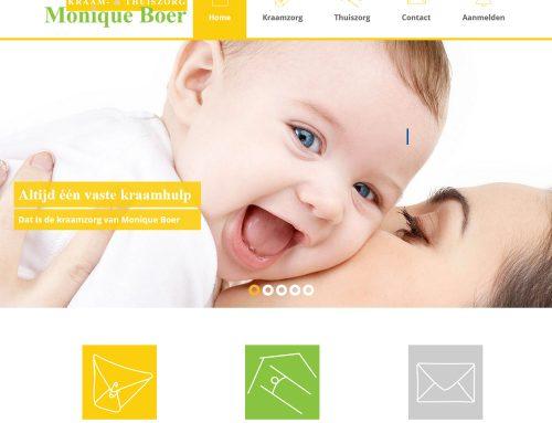Website Monique Boer